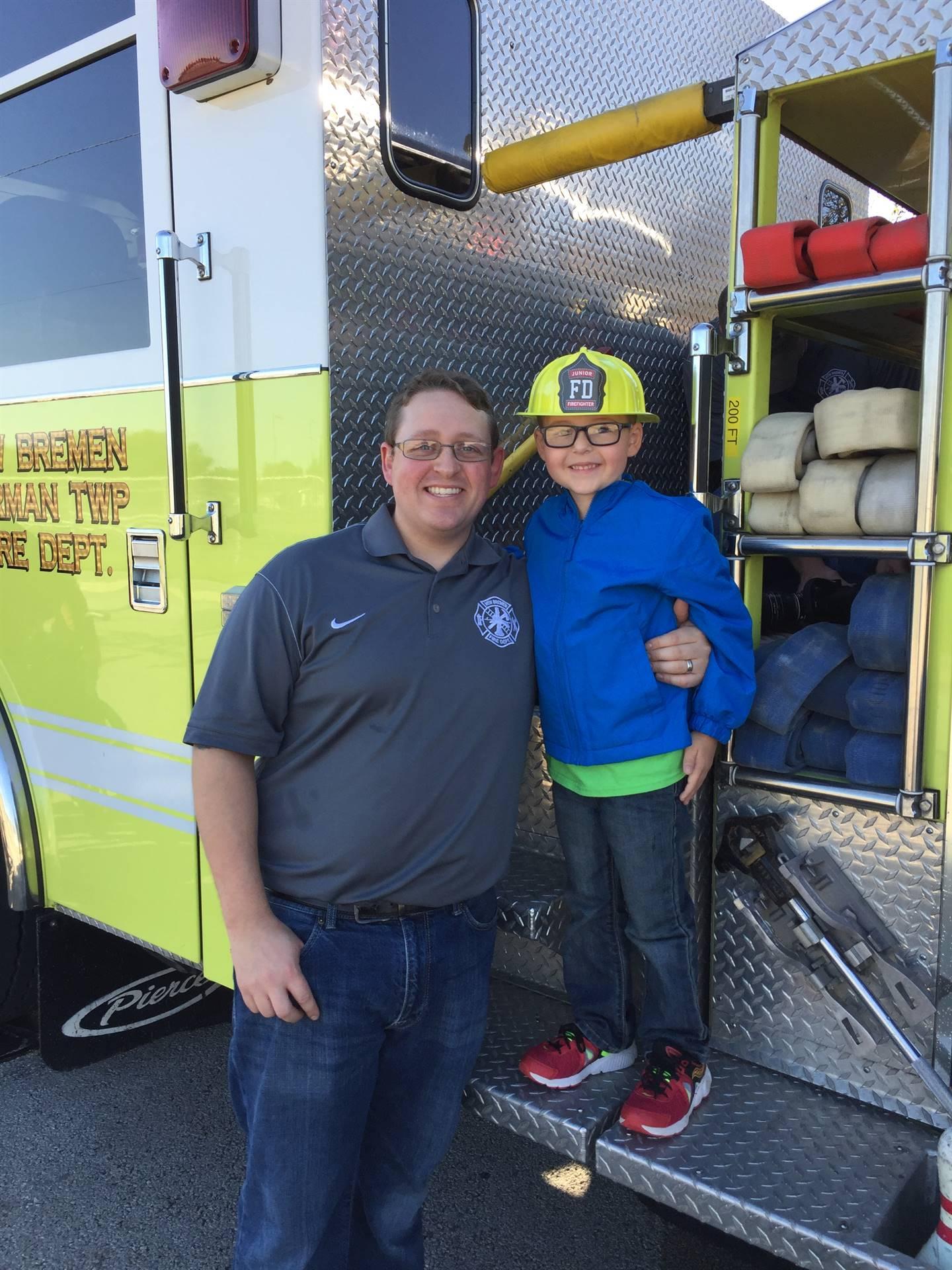 future firefighter!