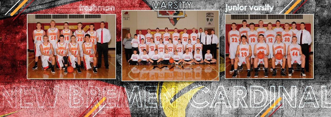 The 2017-2018 High School Boys Basketball Teams