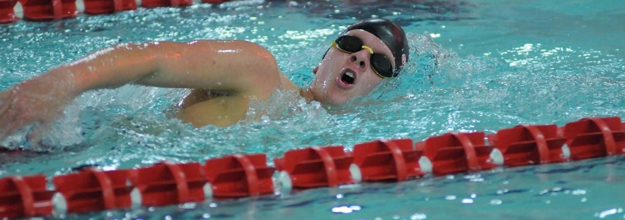 New Bremen High School Swimmer