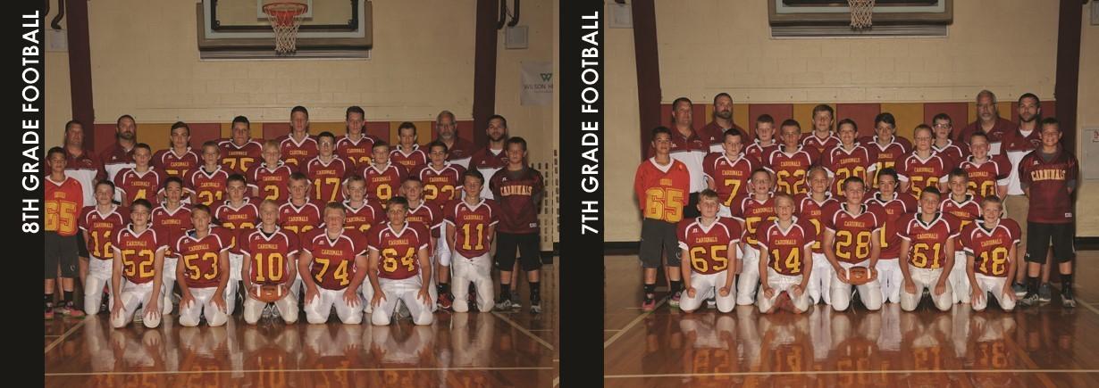 2017 Junior High Football Teams