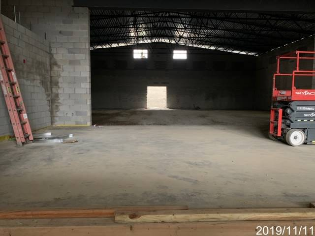 Inside photo of what will become the gymnasium