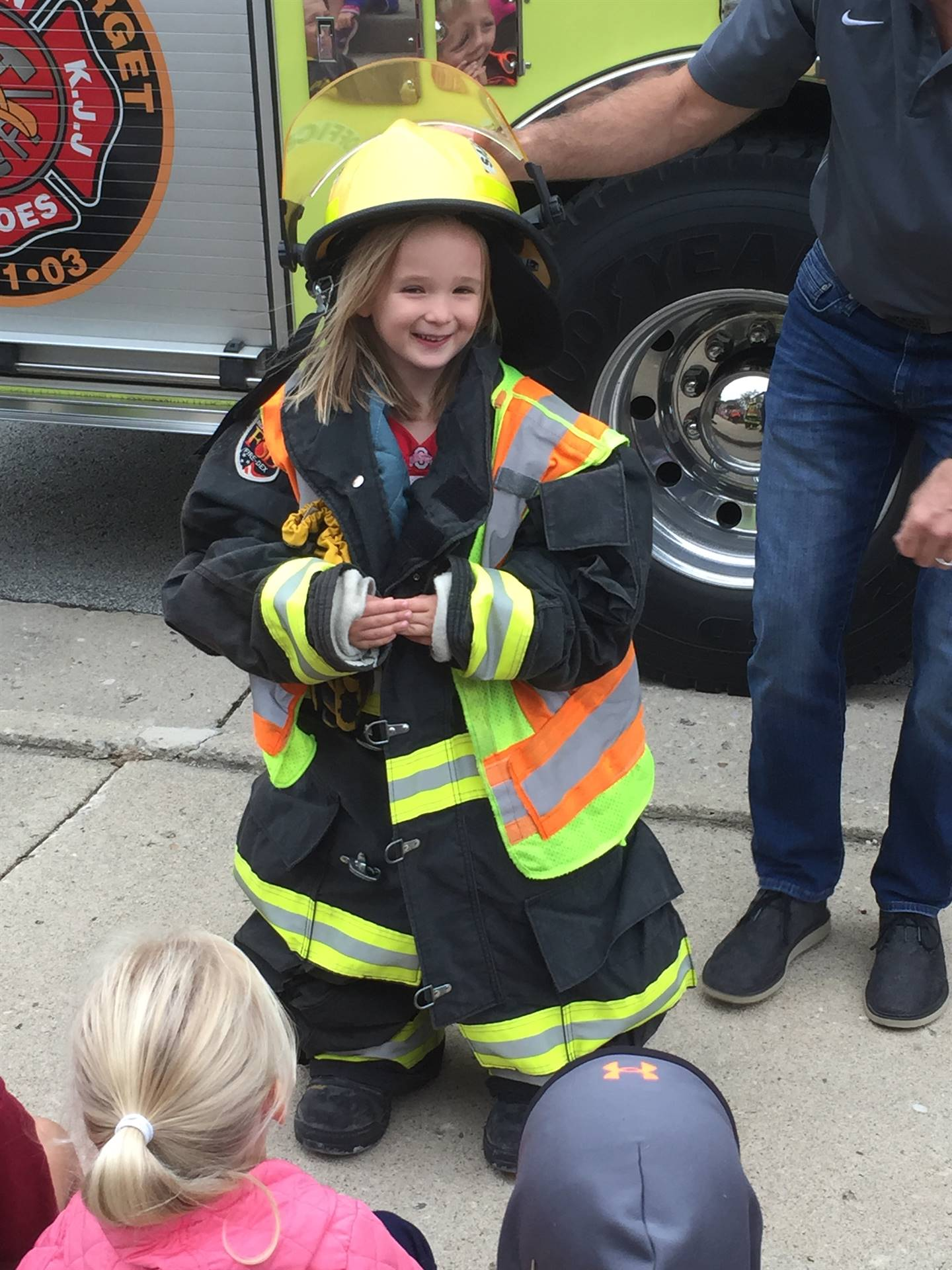 fire safety- fire truck visit!