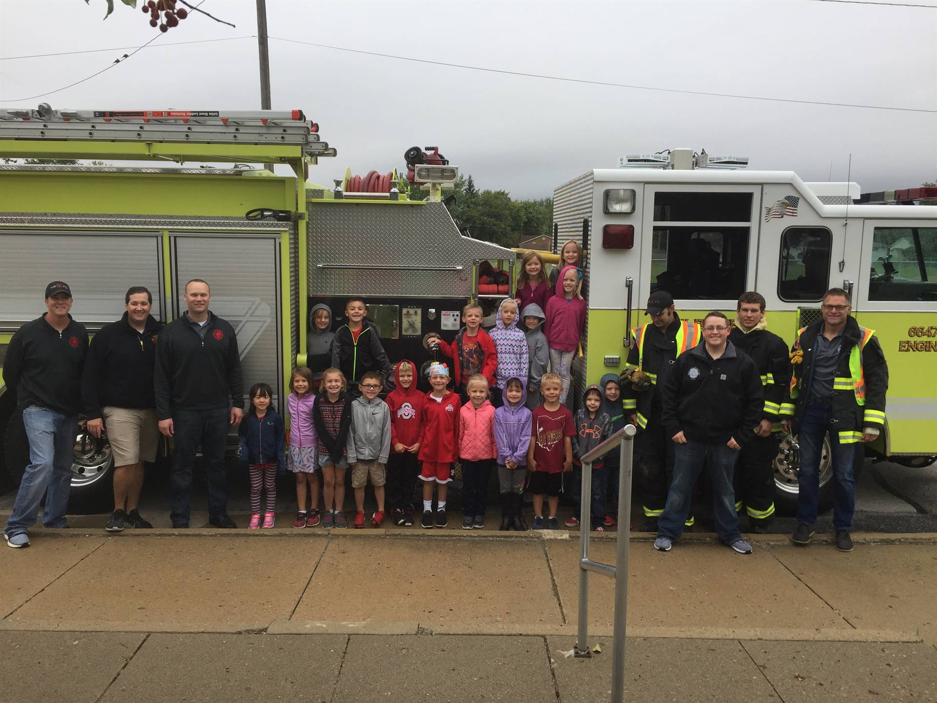 Fire Safety... Fire Truck Visit!
