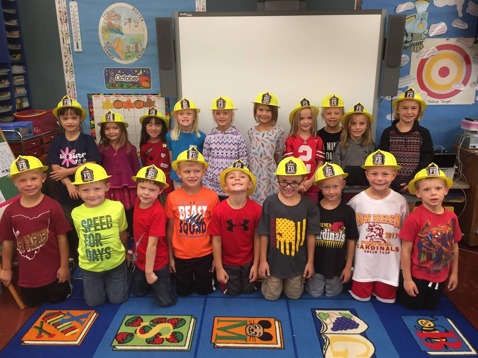 Cutest Future Firefighters!!