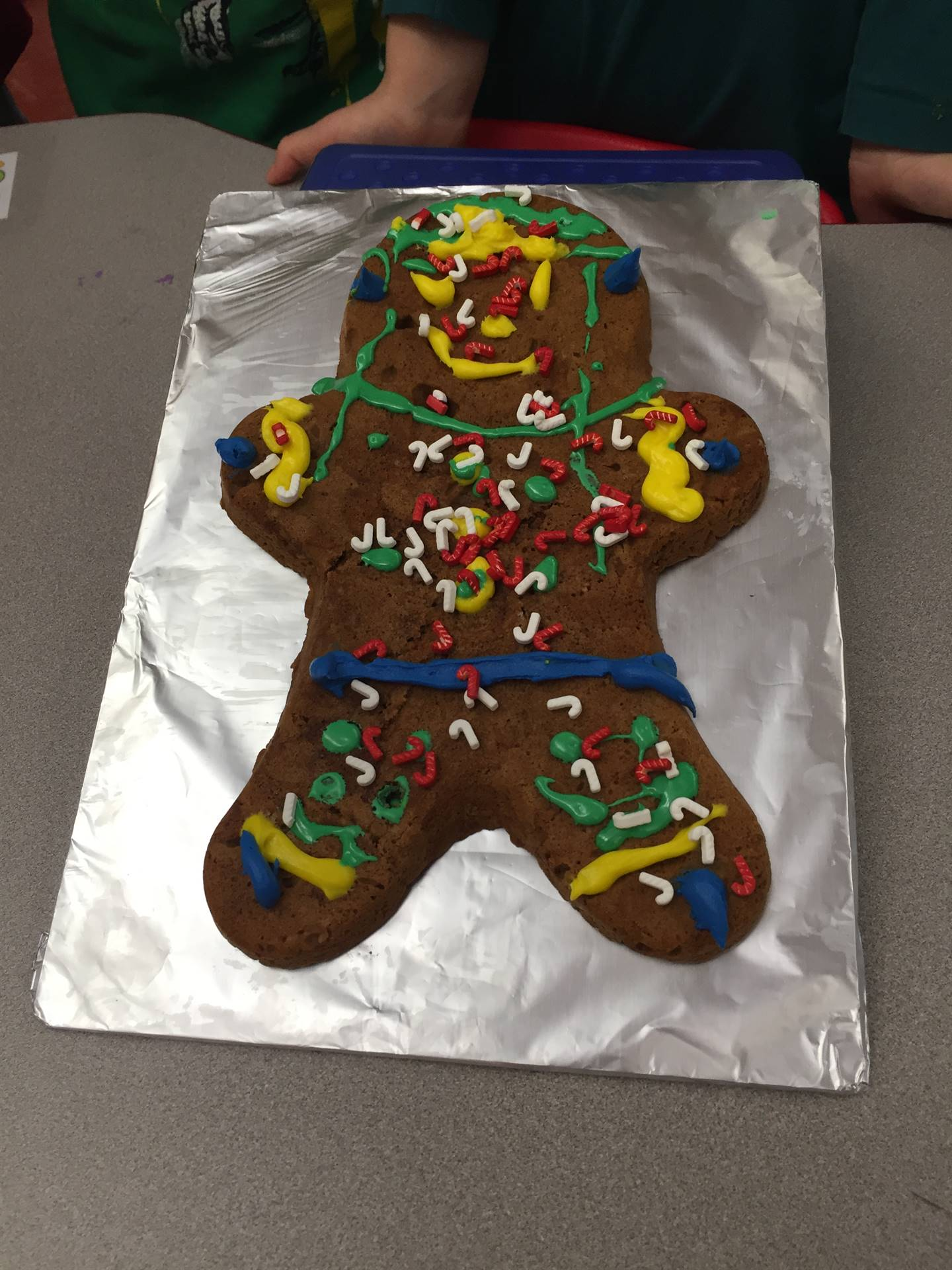 Fun day making & decorating Gingerbread men!