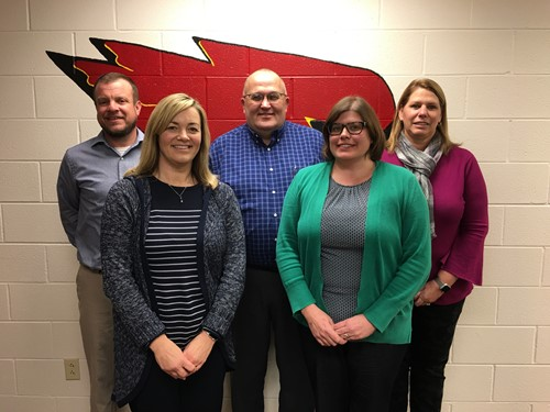 Current members of the New Bremen Board of Education